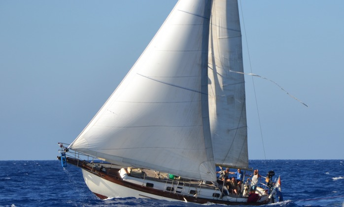 Sicily on Zephyr sailboat