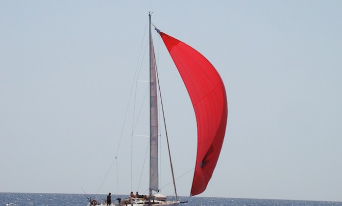 Sicily on Nella sailboat