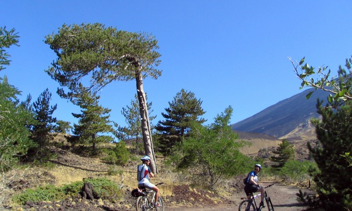 Tour intorno all'Etna in bici